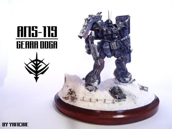 Geara Doga Diorama 2